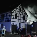 Leiche bei Wohnhausbrand in Eckstedt gefunden