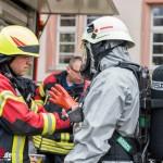 Gefahrguteinsatz aufgrund giftiger Dämpfe im Amtsgericht Arnstadt