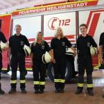 Fünf neue Feuerwehrleute im Einsatzdienst in Heiligenstadt