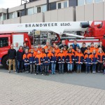 Jugendfeuerwehr verbringt Herbstferien im niederländischen Ort Wehe-den Hoorn