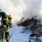 LKW Brand bei Heiligenstadt nur knapp verhindert