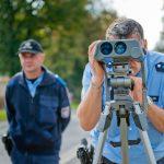 Kontrollstellen zum Blitzmarathon am 21. April 2016 in Thüringen
