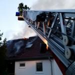 Photovoltaikanlage erschwert Löscharbeiten bei Wohnhausbrand in Bad Salzungen