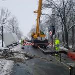 Zahlreiche Unfälle aufgrund der Witterungslage rund um Weimar