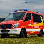 Freiwillige Feuerwehr Auengrund erhält MTW MB Sprinter 316 CDI