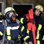Vier Verletzte bei Dachstuhlbrand in Meiningen