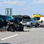Vier Verletzte bei Unfall auf der BAB 73 bei Eisfeld Nord