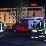 Zwei verletzte Personen bei Zimmerbrand in Masserberger Hotel