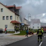 Einsätzkräfte proben Ernstfall im Kulturhaus Bettenhausen