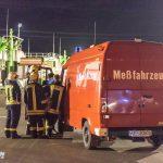 """Austretende Gase im Annahmebereich einer Biogasanlage im Gewerbegebiet """"Am Amselberg"""" in Blankenhain"""