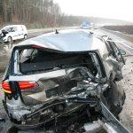 Fünf Verletzte und 120.000 EUR Schaden auf A 9 bei Lederhose