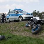Kradfahrer und Sozius bei Unfall zwischen Hummelshain und Kahla leicht verletzt
