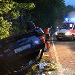 27-jähriger Mann bei Unfall auf der B87 schwer verletzt