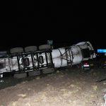 Hoher Sachschaden bei Unfall mit Tanklastzug am Hermsdorfer Kreuz