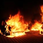 Mehrere PKW in Apolda komplett ausgebrannt