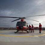 Einsatz für Christoph Thüringen - thüringen112.de begleitet Rettungshubschrauber des DRF