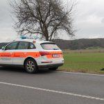 Motorradfahrer bei Unfall zwischen Kranichfeld und Erfurt tödlich verletzt