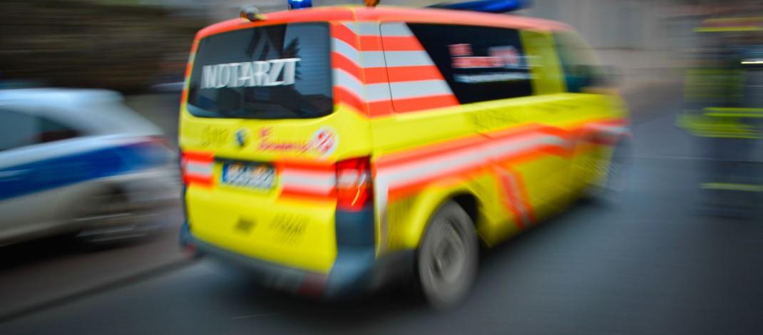 Zwei schwer verletzte Motorradfahrer bei Auffahrunfall in Rudolstadt