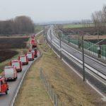 DB-Notfallmanager unterrichtet Feuerwehren an ICE-Neubaustrecke bei Erfurt