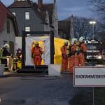 Gefahrgut-LKW verliert nach Brand Wasserstoffperoxid in Eisenberg