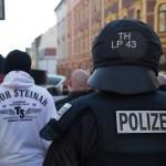Großeinsatz der Polizei anlässlich mehrerer Demonstrationen in Weimar