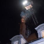 Wohnhaus nach Schornsteinbrand in Mechelroda evakuiert