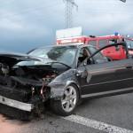 Verkehrsunfall eines PKW mit LKW Beteiligung am Montagmorgen auf A4