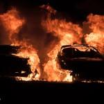 Mehrere PKW auf dem Gelände eines Gebrauchtwagenhändlers in Weimar abgebrannt