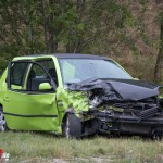 Schwerer Verkehrsunfall auf der Umgehungsstraße B7 in Weimar