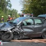 Drei verletzte Personen bei Unfall auf der Bundesstraße 87 bei Bad Berka