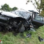 Tödlicher Verkehrsunfall auf der Bundesstraße 87 bei Umpferstedt