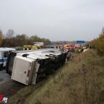 5-Jähriger bei tragischem Busunglück nahe Erfurt tödlich verletzt