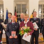 Auszeichnungen des Stadtfeuerwehrverband Weimar e.V. zur Ehrenamtsveranstaltung in Weimar