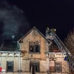 Gebäude brannte in Gotha in voller Ausdehnung