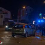 Unfall nach Rotlichtverstoß in Weimar mit einer verletzten Person