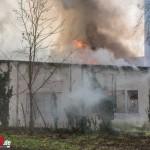 Erneuter Gebäudebrand auf dem Gelände der ehemaligen Sophienheilstätte