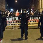 Thügida Demo in Weimar verläuft relativ friedlich