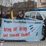 Polizei sicherte wieder rechte Kundgebung in Weimar ab