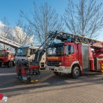 Neue Drehleiter und Gerätewagen-Sanität in Weimar übergeben