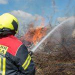 Brandstiftung vermutet: Feuerwehren mussten Maifeuer in Troistedt löschen