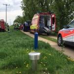 PKW-Fahrer bei Unfall im Weimarer Land eingeklemmt und schwer verletzt