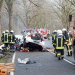 Fahrer tödlich verletzt: PKW prallt bei Bad Salzungen frontal gegen Baum