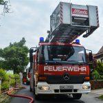 Brand in Mehrfamilienhaus in Dietzhausen