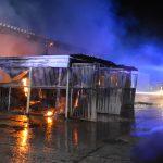 Pferd bei Brand in einem Stall in Römhild verstorben und mehrere Tiere gerettet