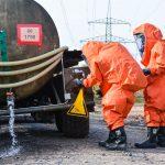 Gefahrgutzug und Sanitätskomponente aus dem Landkreis Sonneberg proben den Ernstfall
