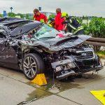 Schwerverletzte bei Auffahrunfall auf der A 4 bei Gera