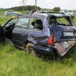 Flucht vor der Polizei endet in Unfall auf A 9 bei Lederhose