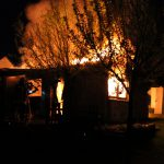 Brand einer Gartenlaube sorgt für Einsatz der Apoldaer Feuerwehr