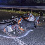Motorradfahrer bei Unfall auf der Bundesstraße 85 bei Bad Berka lebensgefährlich verletzt