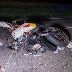 Motorradfahrer erlag seinen schweren Verletzungen im Krankenhaus